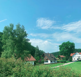 các khu nhà tại vùng nông thôn Đức