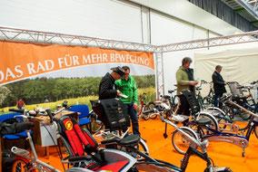Vielfältiges Dreirad-Sortiment im Dreirad-Zentrum Berlin