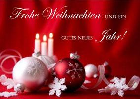 Weihnachtsgruß Dreirad Zentrum Nürnberg