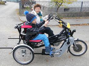 Fun2Go Dreirad: Komfort und Spaß zu zwei