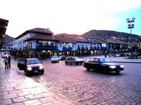 Spätnachmittag auf der Plaza de Armas