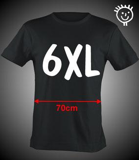 Strichpunkt T-Shirts große Größen bis 6XL