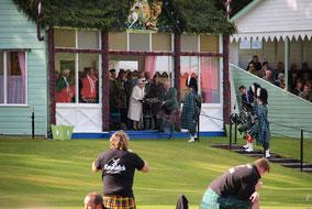 Könglicher Besuch bei den Highland Games in Braemar