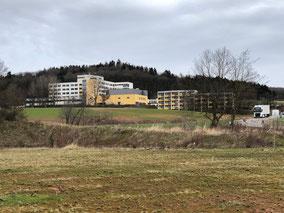 Aufnahme des Krankenhauses (Foto: Eric Spaniol)
