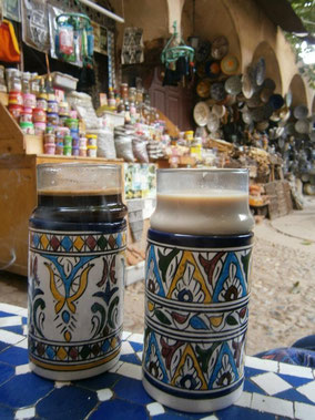 Coffee, Fez, Morocco, Africa