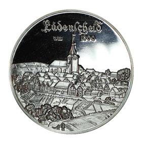 Silbermünze Lüdenscheid