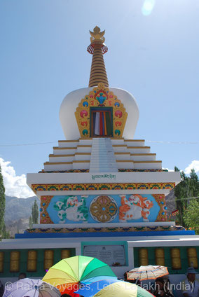 The Stupa of the Descent from Tushita Heaven