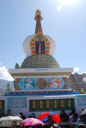 The Lotus Blossom Stupa