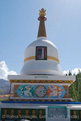 The Parinirvana Stupa