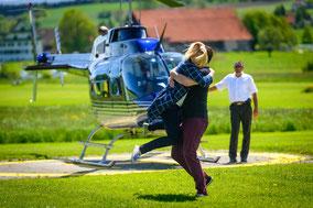 Helikopterrundflug Gewinnen
