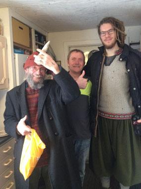 Von links nach rechts: Torbjörn, Jürgen, Martin
