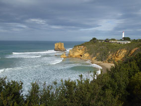 Erste Station auf der Great Ocean Road: Split Point Lighthouse