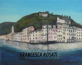 Portofino, olio su tela, 40x50cm, 2011