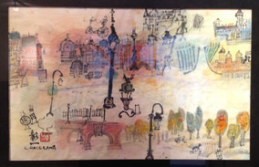 Paris à l'aube, shoichi hasegawa, aquarelle