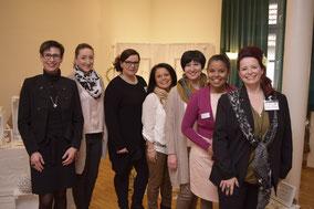 Von links: Heike Hörning, Selina Scherrmann, Nicole Rummel, Katharina Rathmann, Swetlana Trippel-Bifeld, Gloria Guimaraes, Liane Kaiser