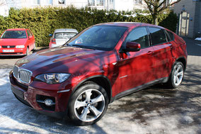 BMW X6 E71 mit Rear Seat Entertainment