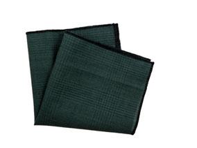 Einstecktuch dunkel grün-herbst