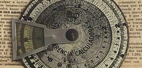 """Círculo de cálculo """"Circunferencia Calculadora"""""""