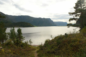 Angeln in Norwegen auf dem Weg nach Hitra