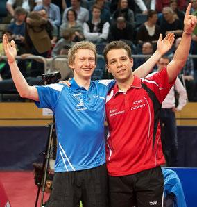 Deutscher Meister im Doppel 2013