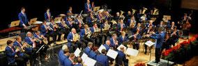 Stadtmusik Salzburg beim Konzert im Kongresshaus Salzburg