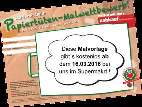 Nahkauf Fulda, Ein Herz für Kinder, Spenden-Aktion, Malwettbewerb