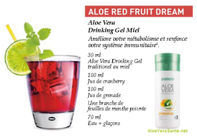 cocktail ALOE RED FRUIT DREAM ... LR Health and Beauty More quality for your life.