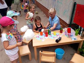 Foto: Sommerfest zum Weltkindertag am 1. Juni 2018