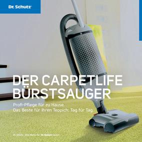 Quelle: dr-schutz.com Carpetlife Bürstensauger