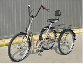 Dreiräder sind kippsicher und stabil