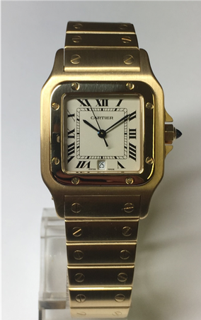 Cartier Santos 18ct Gold