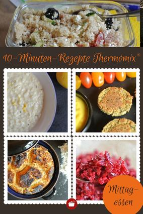 Kochen für #Faule - #Blitzrezepte - nur 10 Minuten Arbeitszeit - Thermomixrezepte