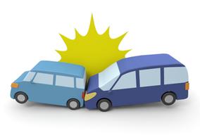 交通事故 かぶらぎ整骨院・整体院にお任せください 事故イメージ画