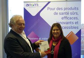 leucémie hématologue Pr. Maraninchi Président ANSM Mina Daban Présidente LMC France leucémie myéloïde chronique agence nationale sécurité médicament
