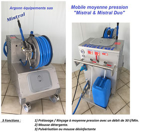Mistral mobile  moyenne pression