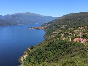 Panorama da Maccagno