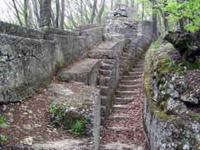 Fortificazioni monte Orsa