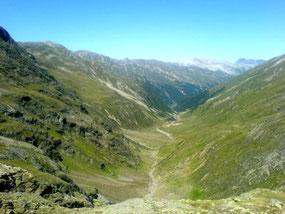 Colle delle Mine verso Livigno