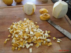 recette fruits confits