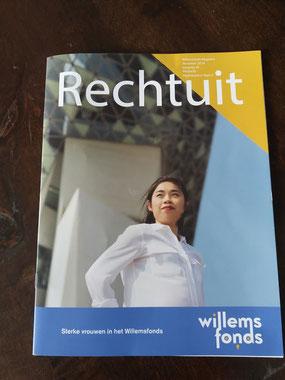 publicaties van ca1000 in het cultuurmagazine Rechtuit van het Willemsfonds