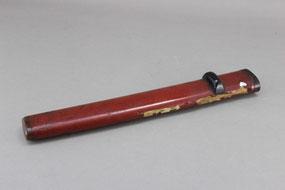 刀の鞘の部分漆塗り修理