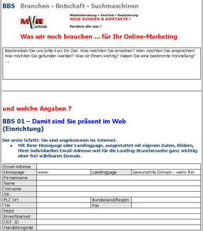 BBS Branchen Botschaft Suchmaschinen