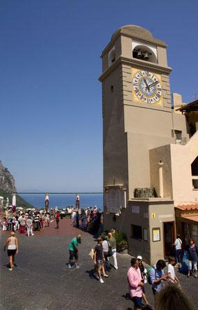 Capri: La Piazzetta