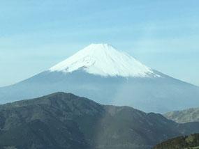 箱根・芦ノ湖からの富士山
