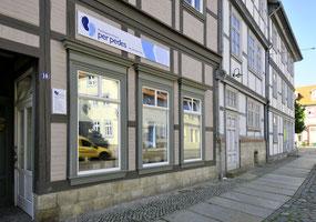 Die Praxis in der Voigtei 10 in Halberstadt