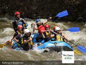 Rafting in Bulgarien