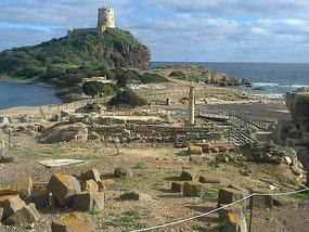 Nora, area archeologica