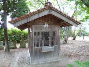 米子八幡神社・御神馬舎