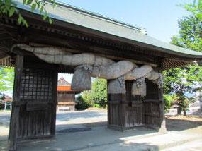 米子八幡神社鳥居