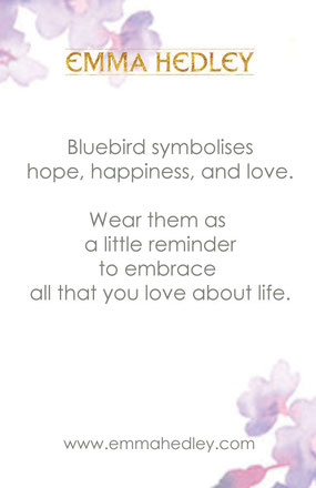 Emma Hedley Jewellery Bluebird meaning